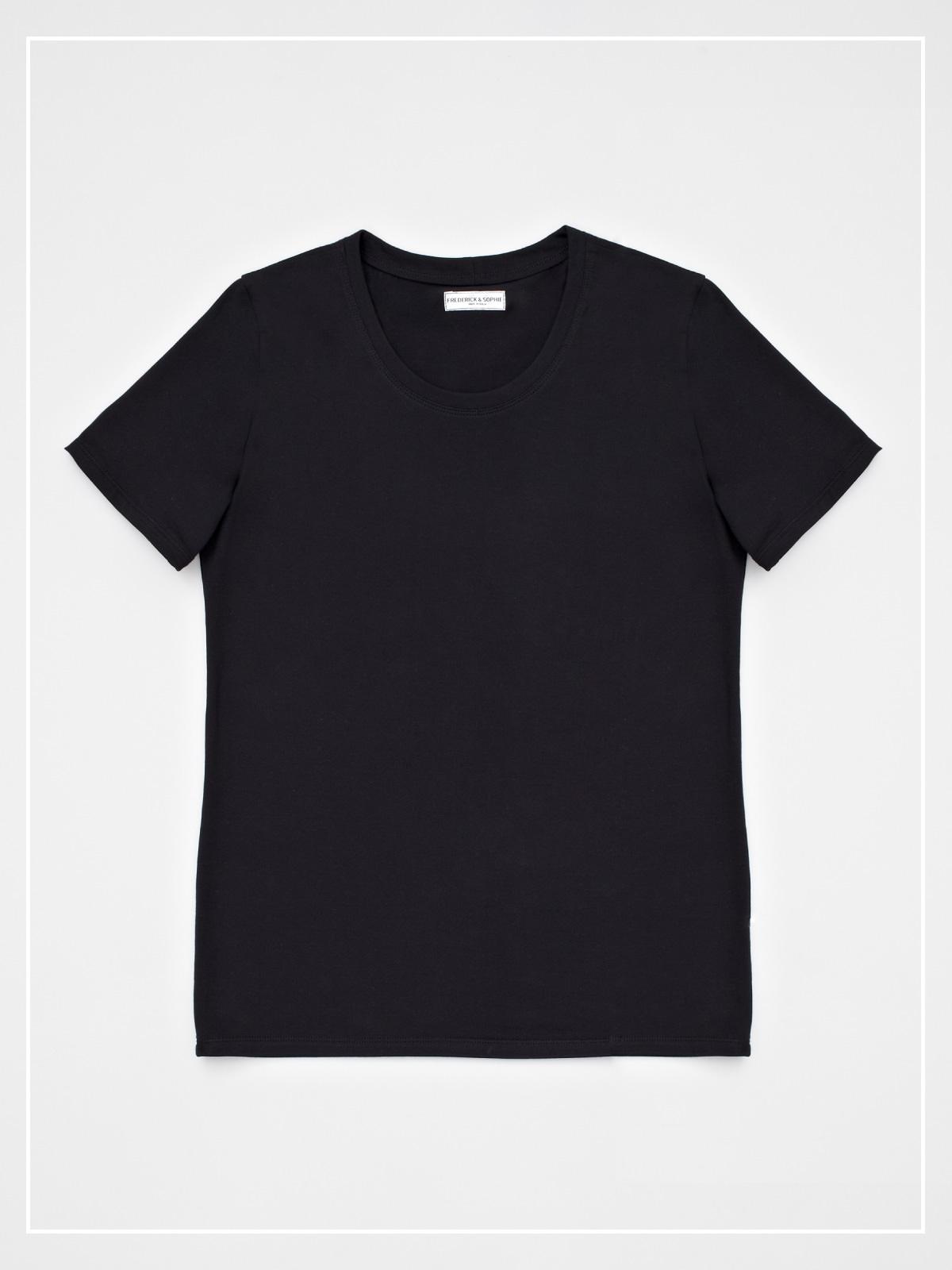 frederickandsophie-tshirt-roundneck-black-sophie
