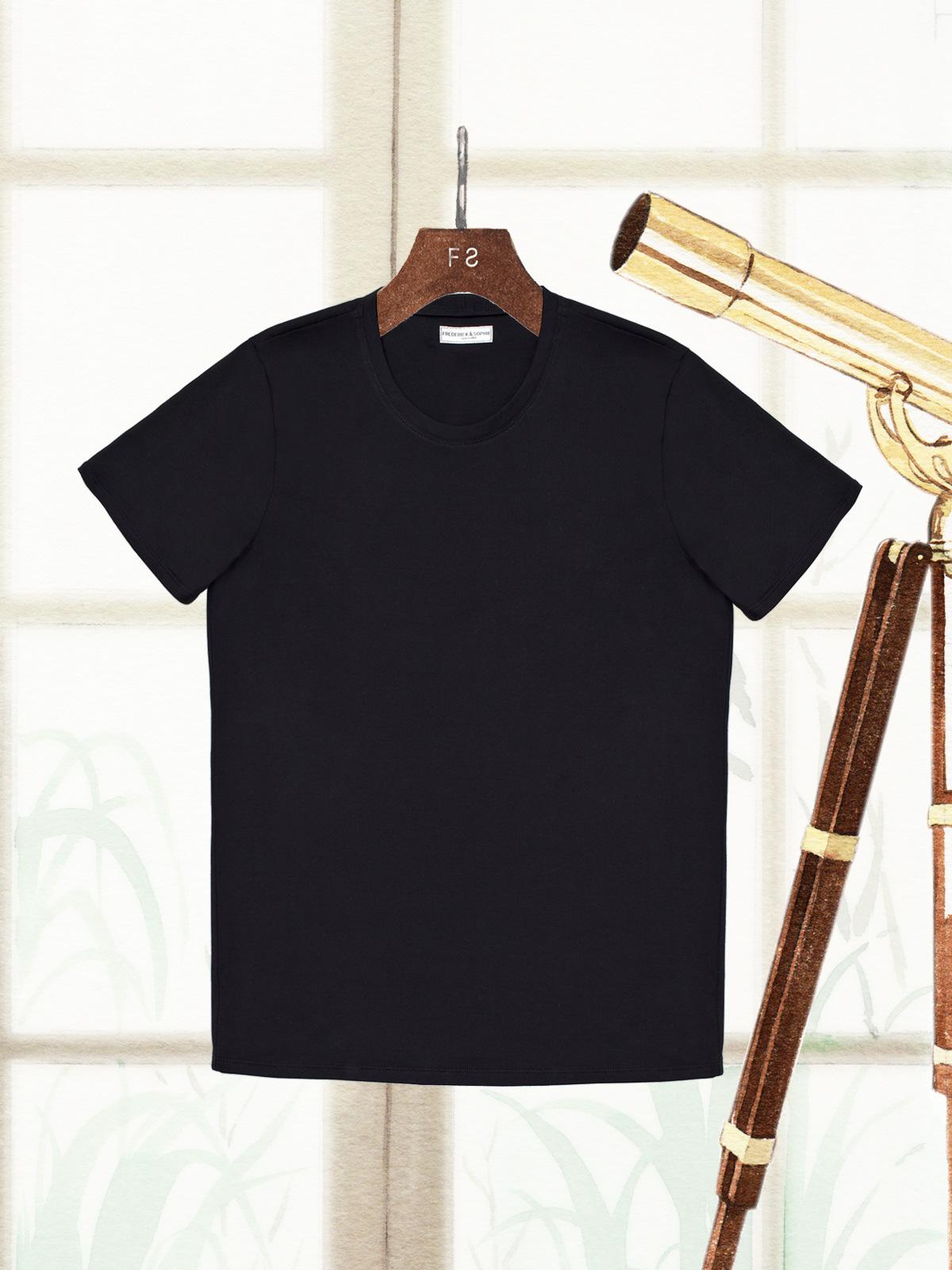 frederickandsophie-frederick-tshirt-black