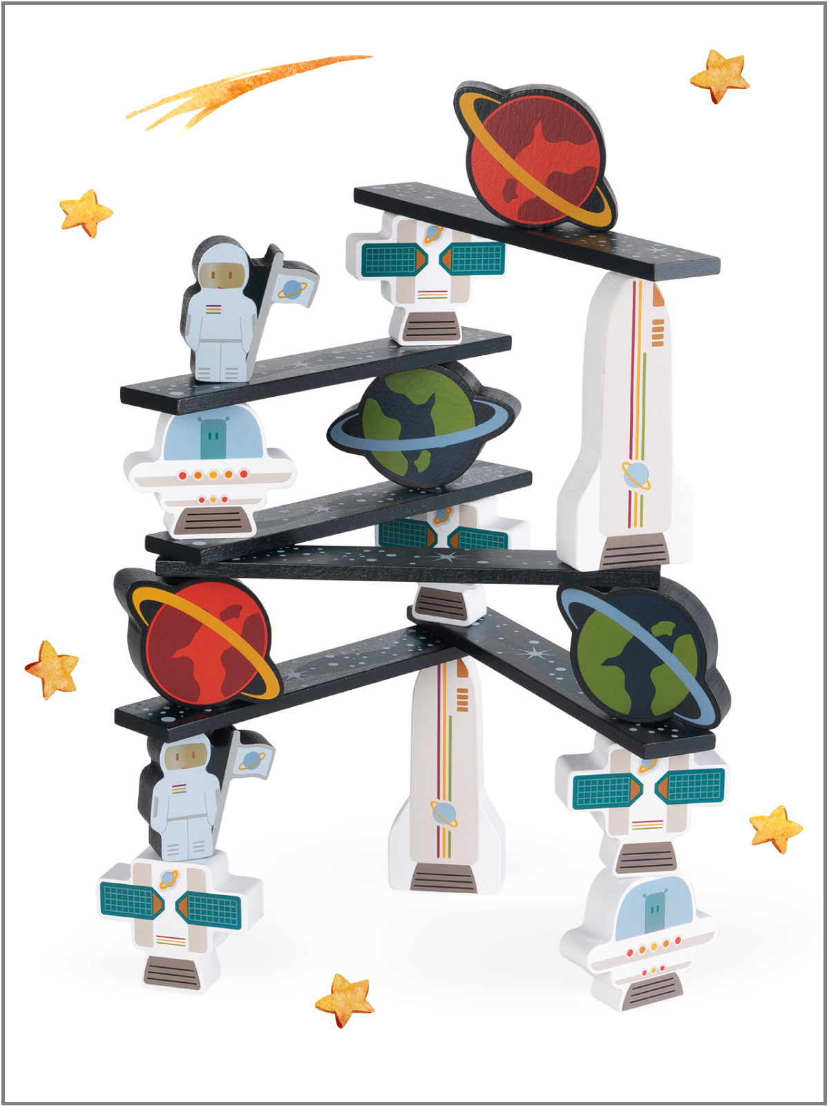 frederickandsophie-kids-toys-janod-france-space-astronaut-balance-game