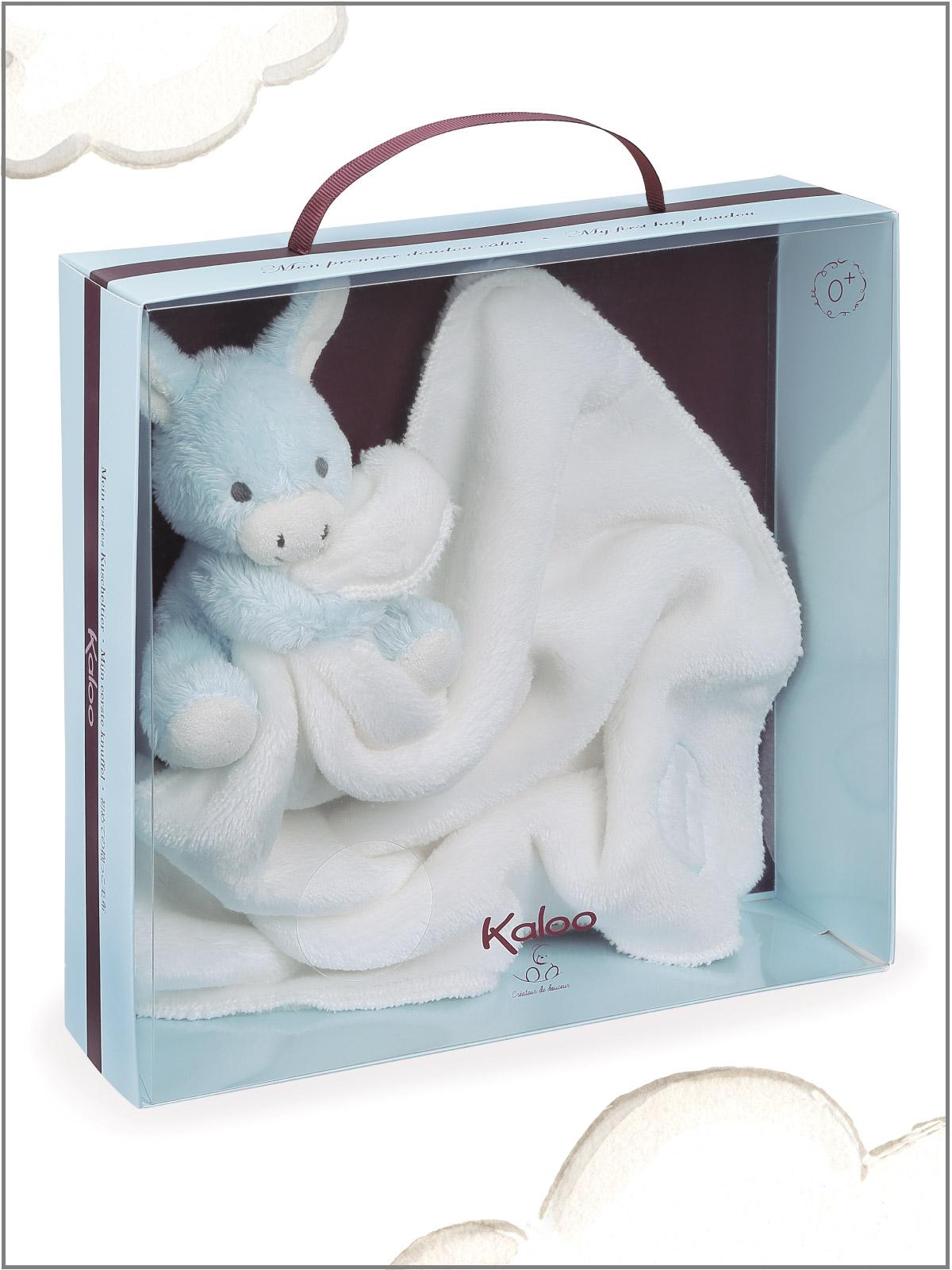 frederickandsophie-kids-toys-kaloo-france-comforter-donkey-amis-blue-doudou