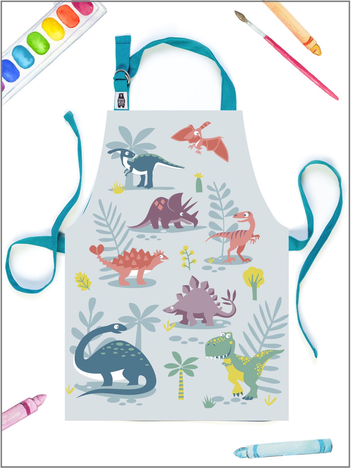 frederickandsophie-kids-toys-threadbear_design-apron-dinosaurs-art-crafts-artist-play