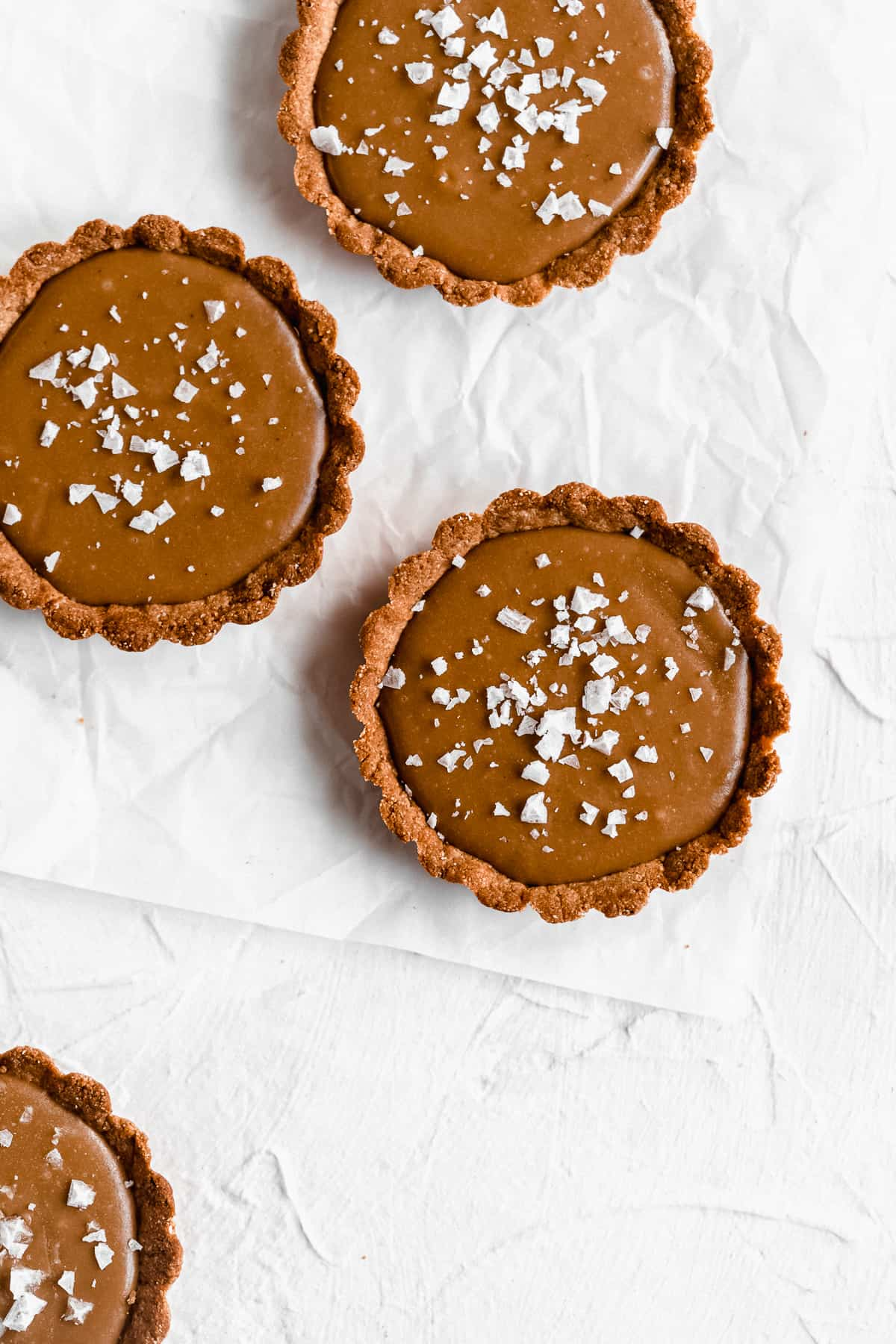 Vegan Salted Caramel Tart Recipe V Gf Paleo Df The Fit Peach