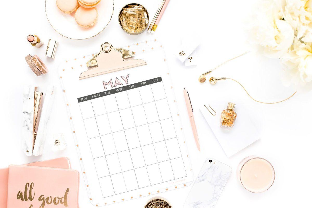 free printable may calendars