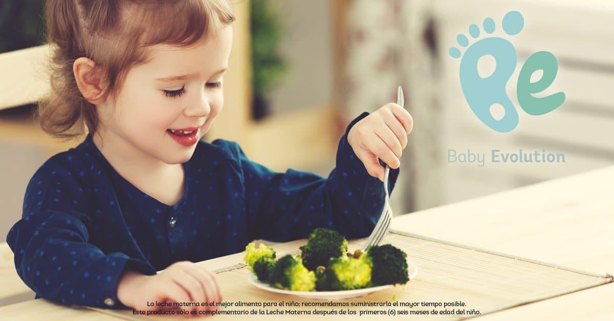 ¿Qué debe tener un plato saludable para niños de 2 años?