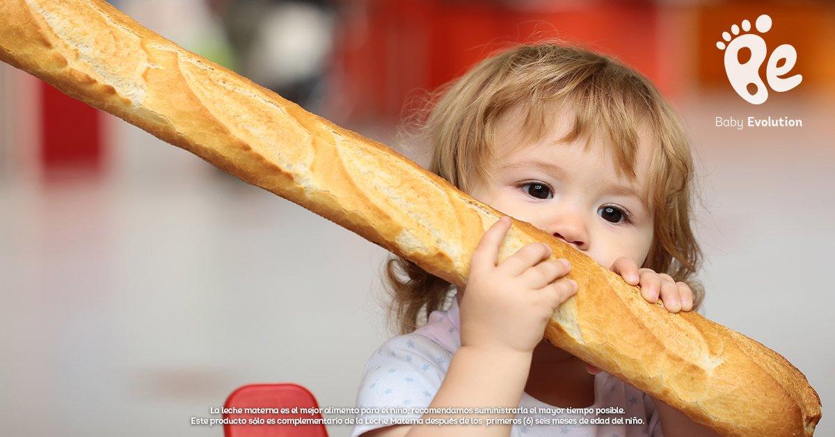 El pan, ¿es un alimento saludable para niños?