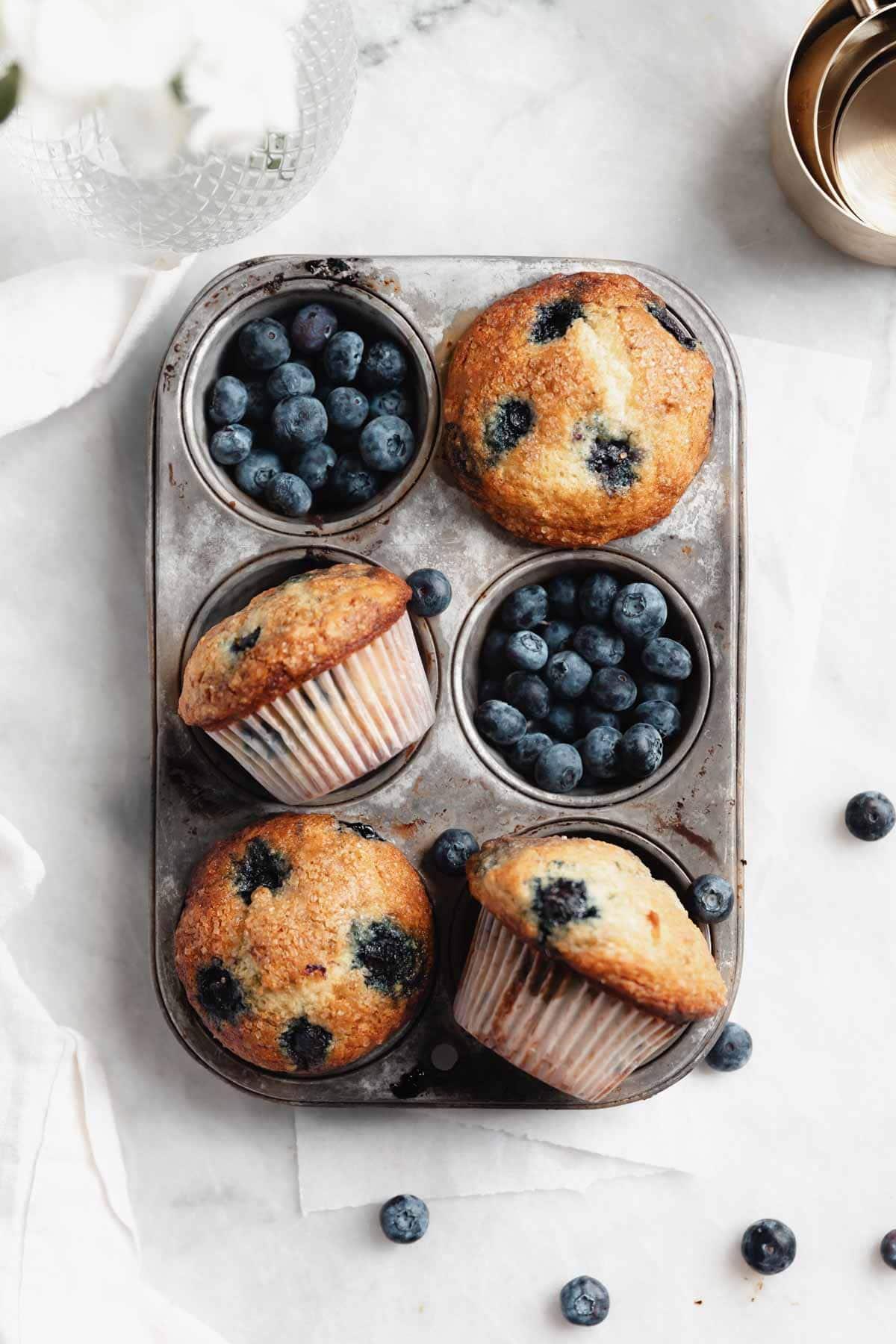 la meilleure recette de muffins aux bleuets