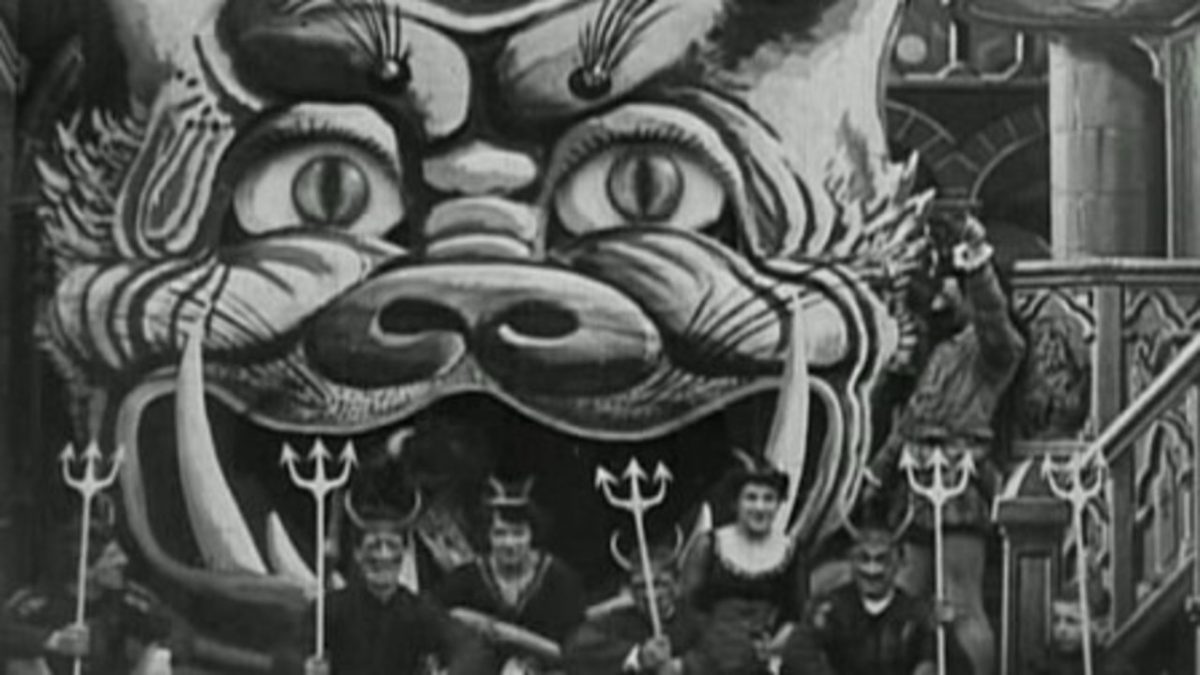Georges Melies, early silent horror movies