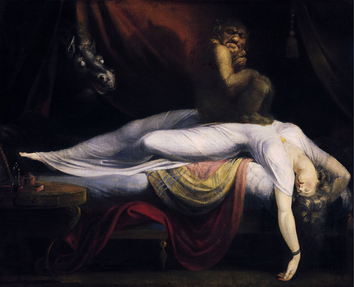 The Nightmare by Henry Fuseli, horror history