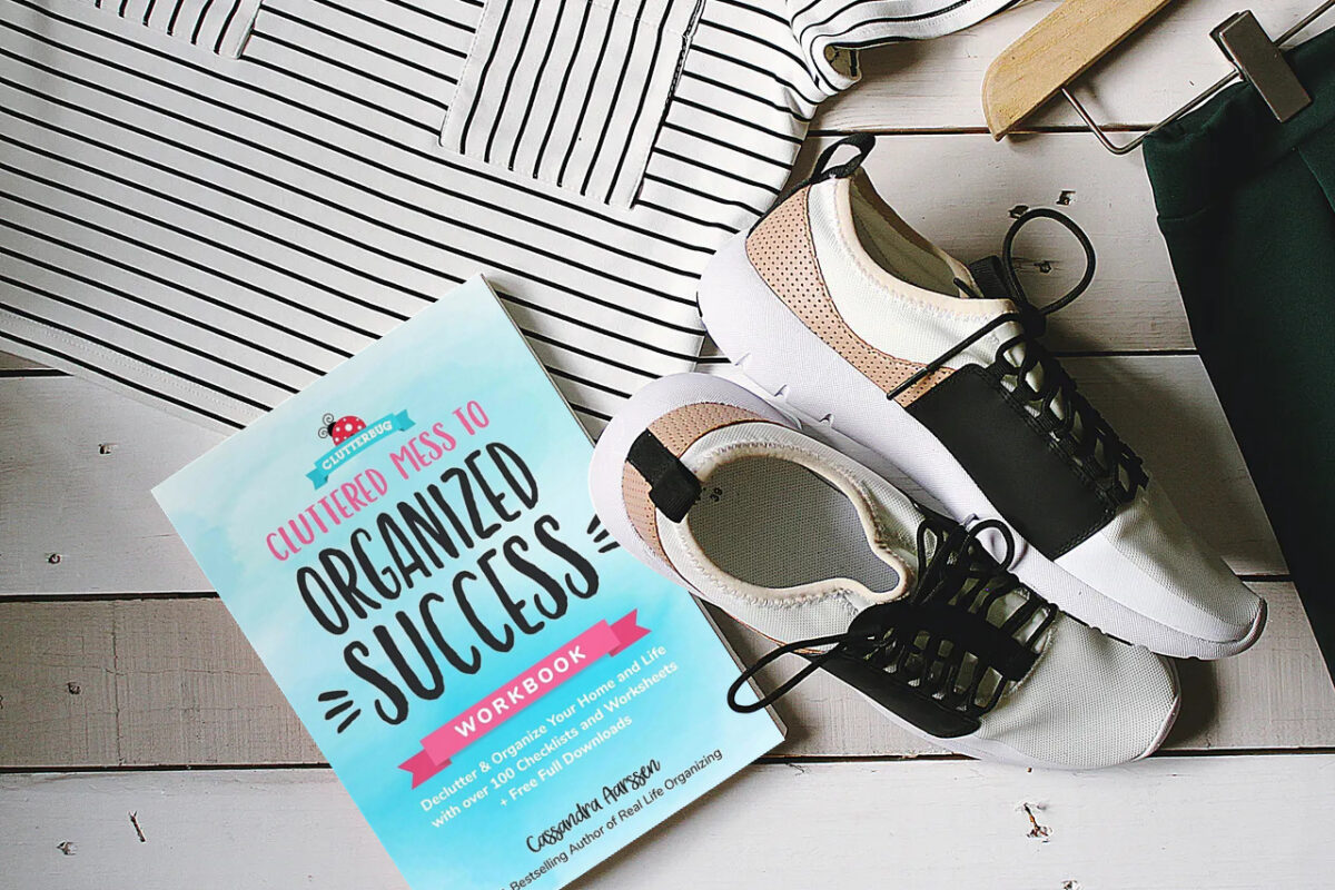 Best decluttering book 4: Cluttered Mess To Organized Success.