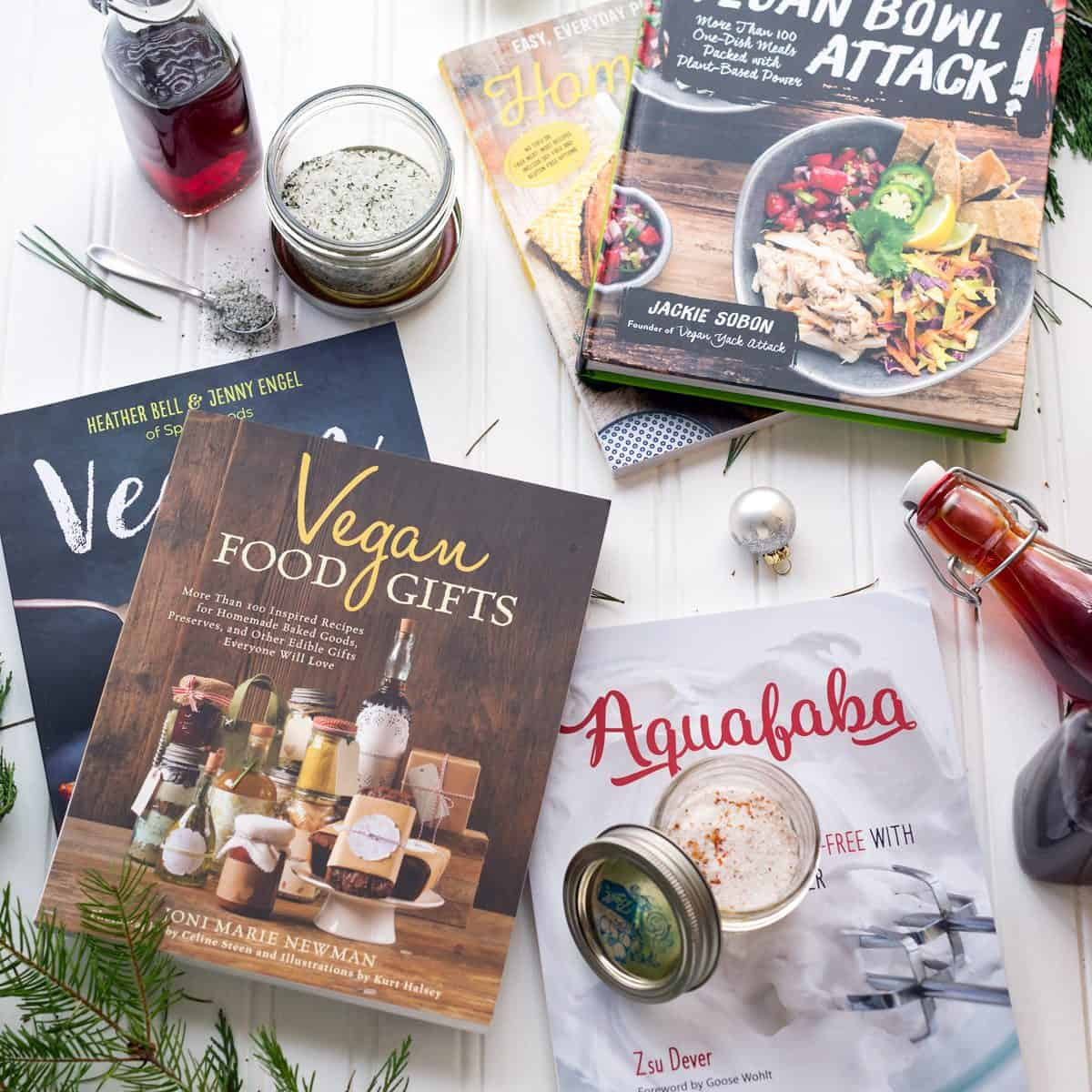 Vegan Gift Guide + Homemade Gifts - Great ideas for giving the right (vegan) gifts this year! Cookbooks, homemade liquor, a giveaway and more!