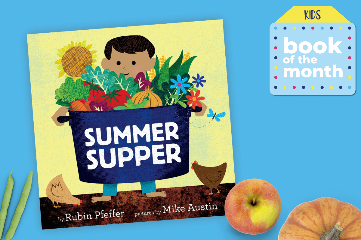 Kids Book of the Month Summer supper