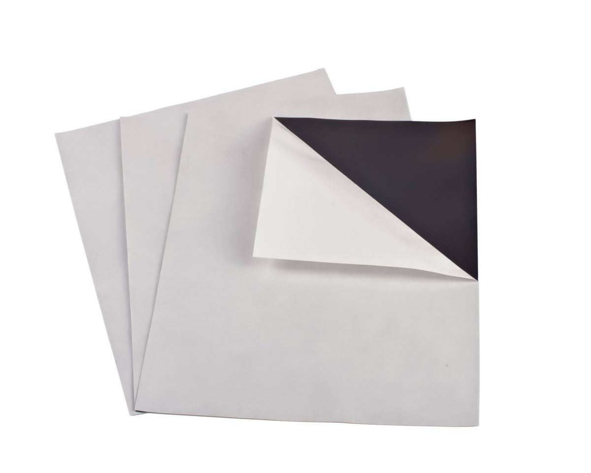 """15 mil 4"""" x 6"""" Indoor Adhesive Magnet Sheets"""