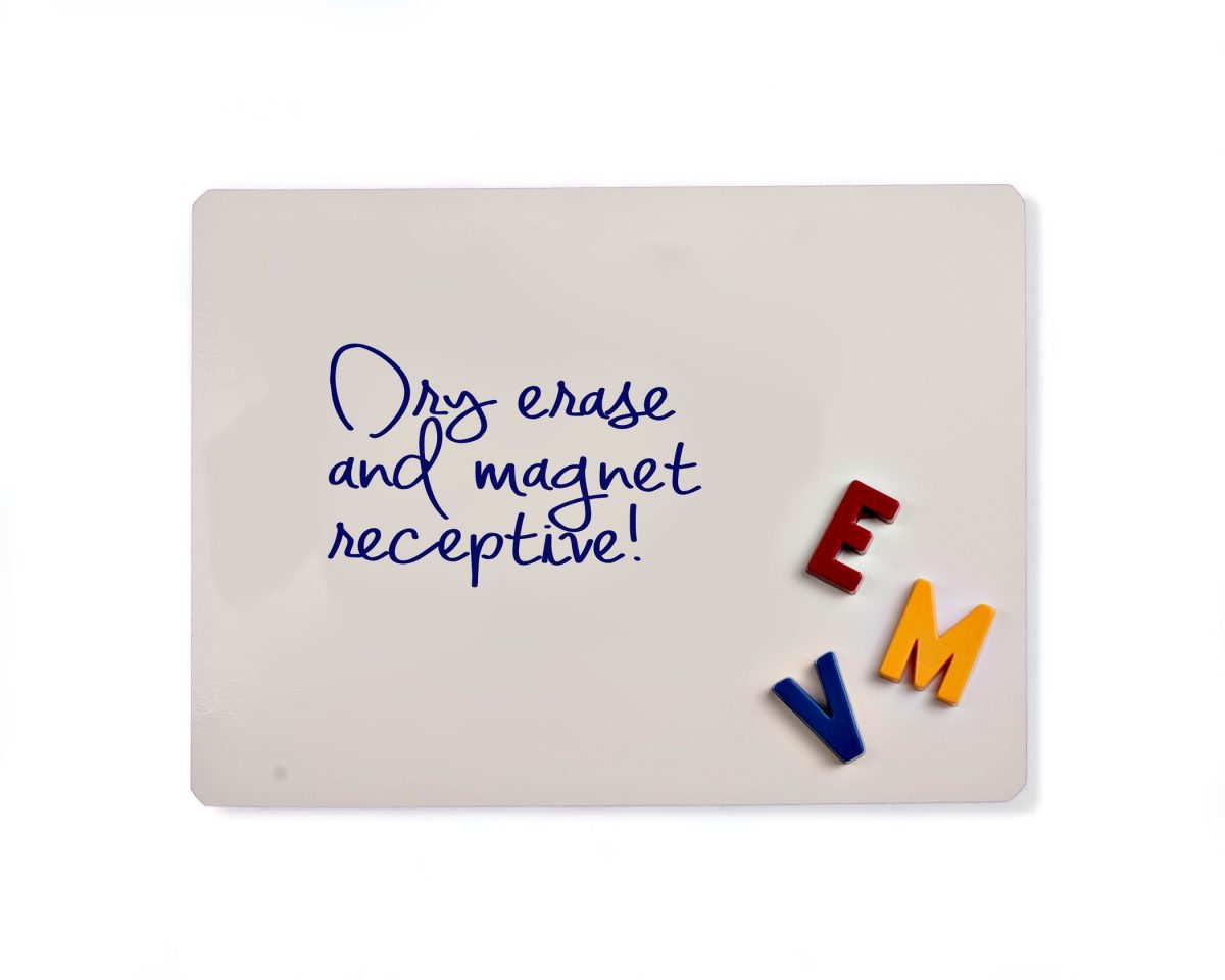 Dry Erase Whiteboard Sheet Sample
