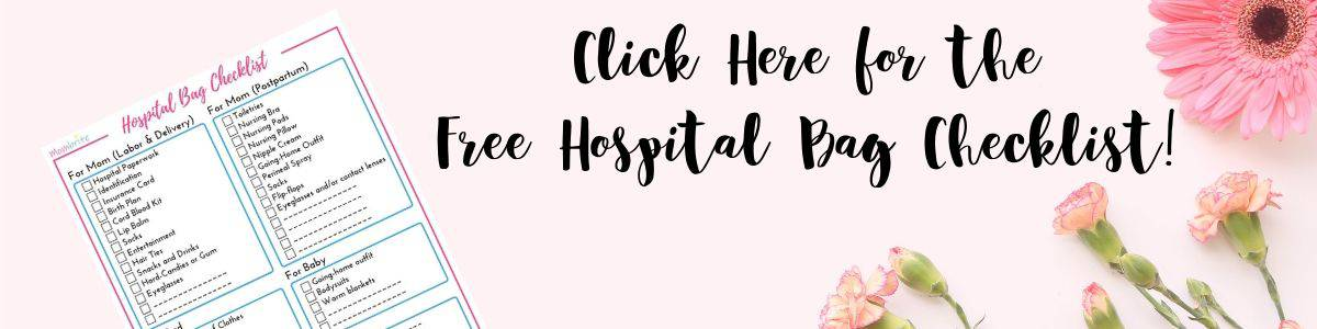 picture about Printable Hospital Bag Checklist for Labor and Delivery identified as The Supreme Medical center Bag Listing For Mothers Towards Be Mombrite