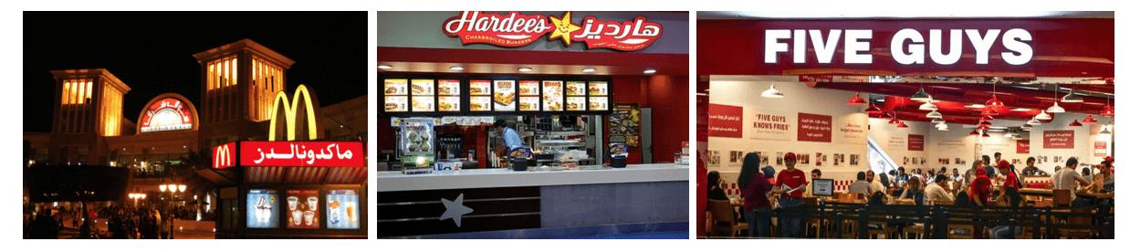 Kuwait fast food restaurant industry