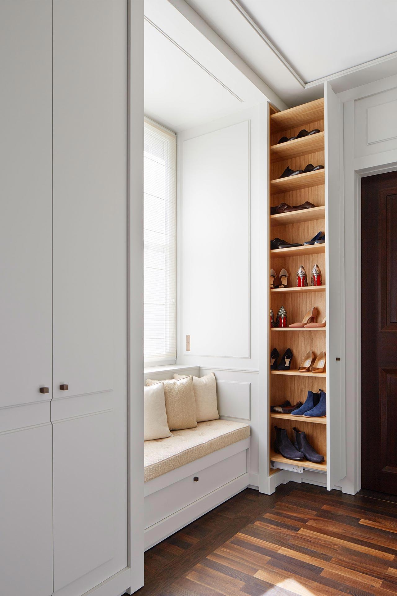 Interior fitted wardrobe