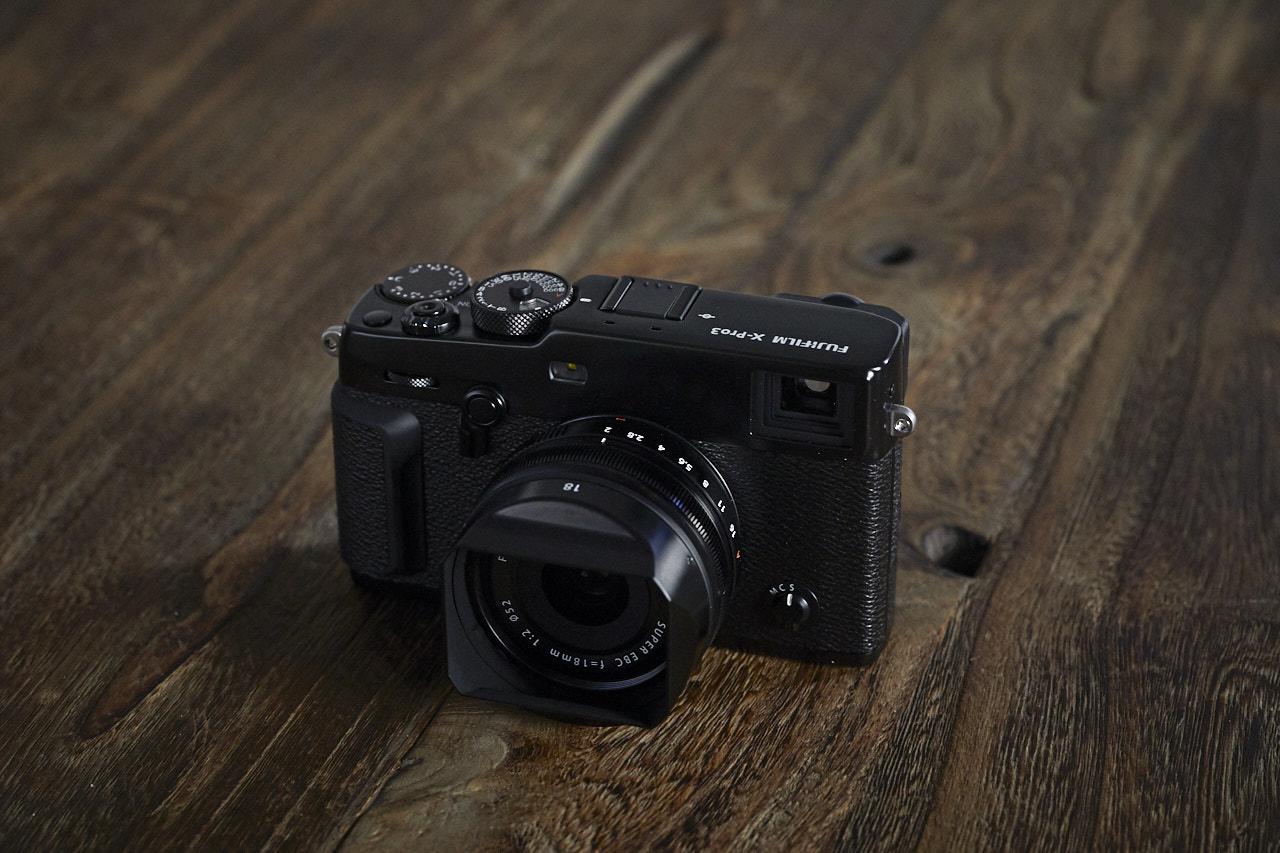 Fujifilm X-Pro3 XF 18mm 2.0