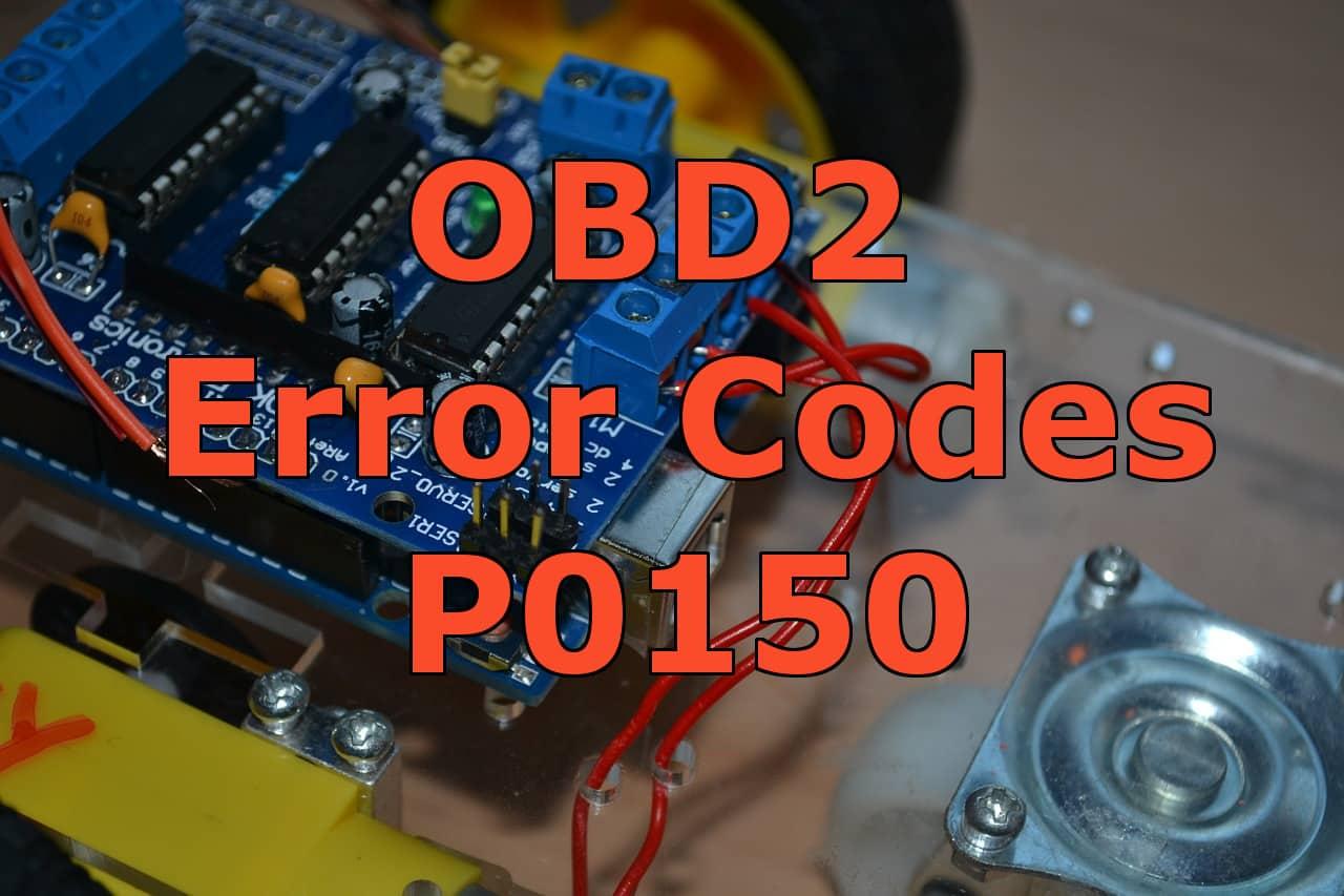 OBD2 error codes p0150