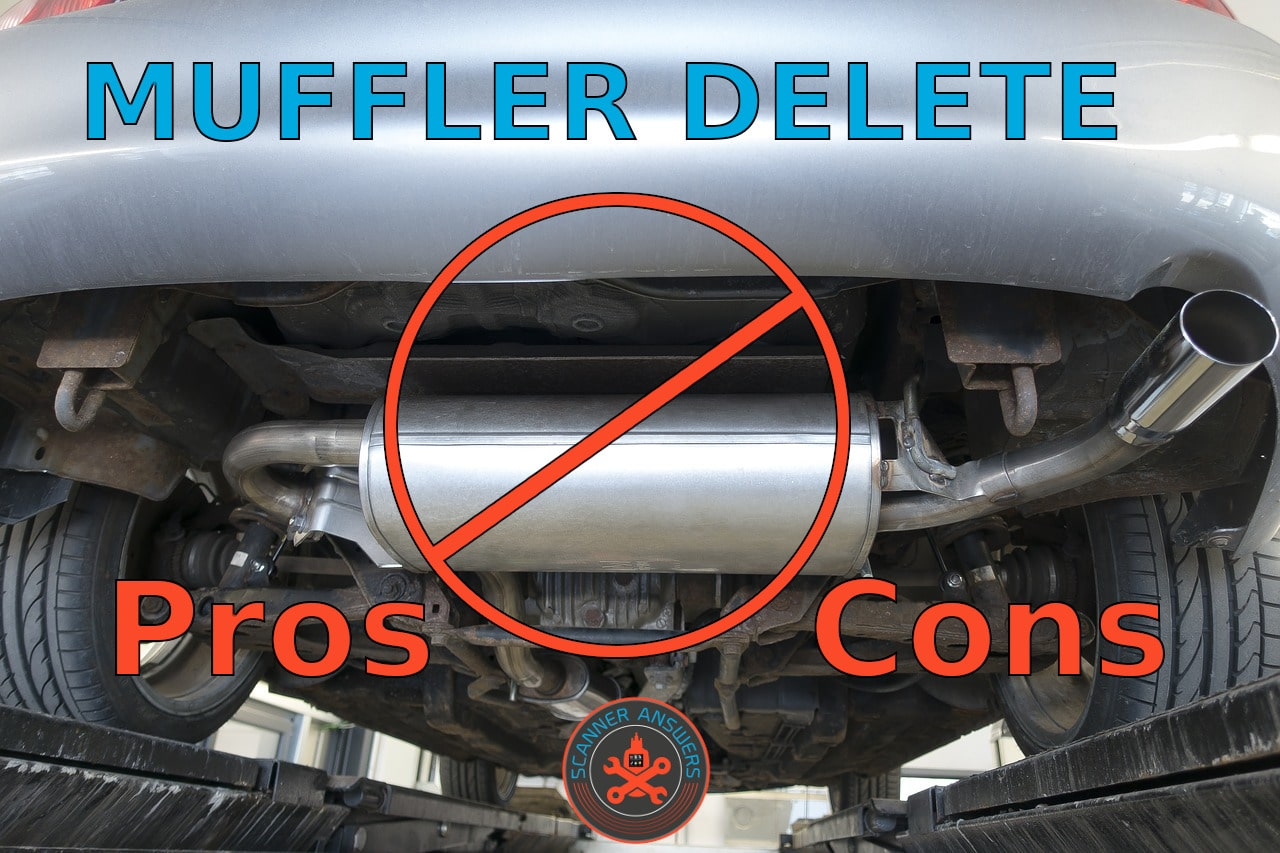 muffler delete pros and cons
