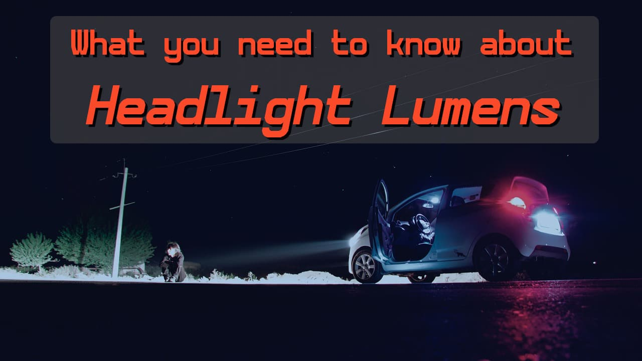 How many lumens is a car headlight