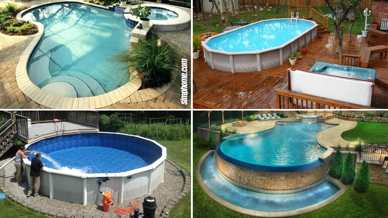 20+ Ideas How to Build Above Ground Pool Backyard Ideas ...