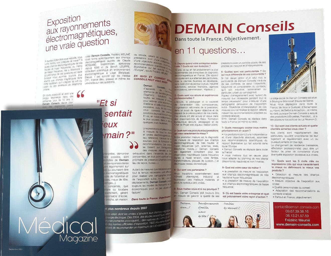 Demain Conseils | Medical Magazine 2020