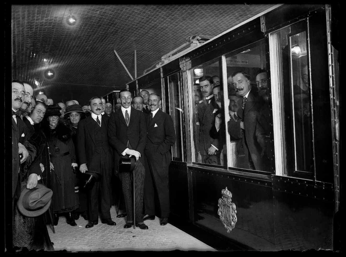 Inauguracion metro de madrid