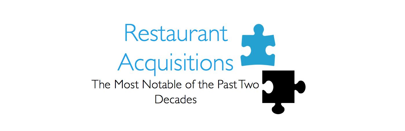 Largest Restaurant Acquisitions