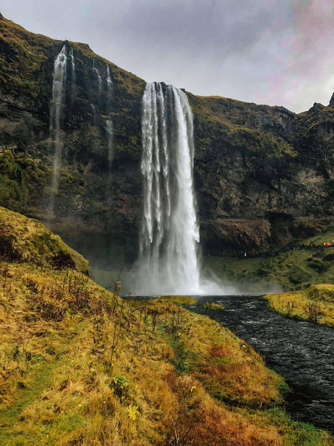 Seljalandsfoss waterfall in Iceland