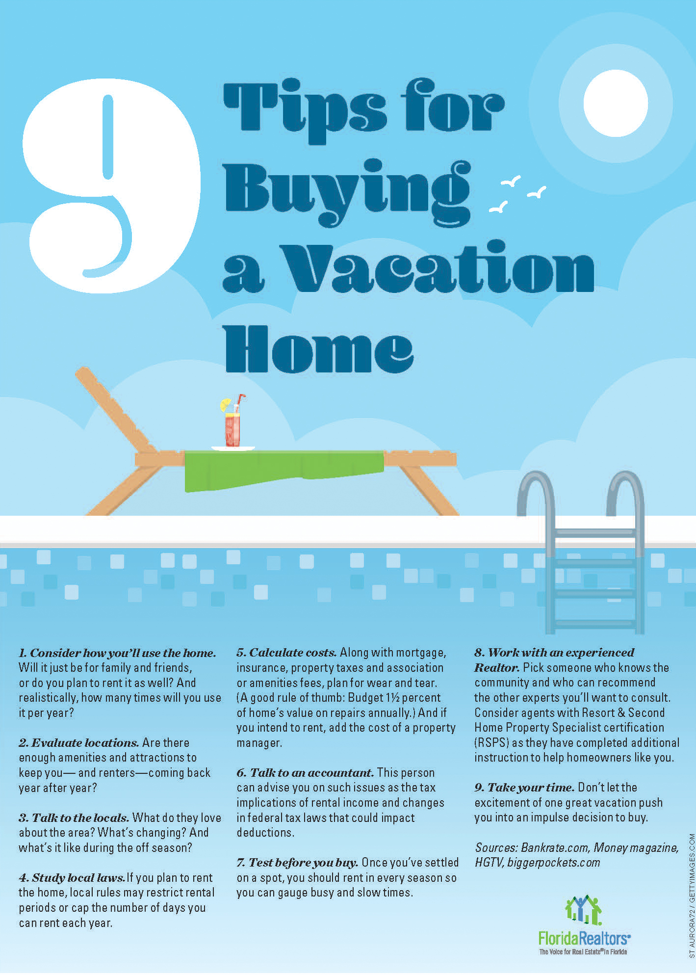9 Tips for buying a vacation home presented by Almost Home Real Estate Services