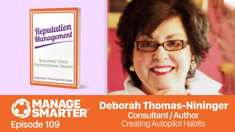 Deborah Thomas-Nininger on the Manage Smarter podcast from SalesFuel