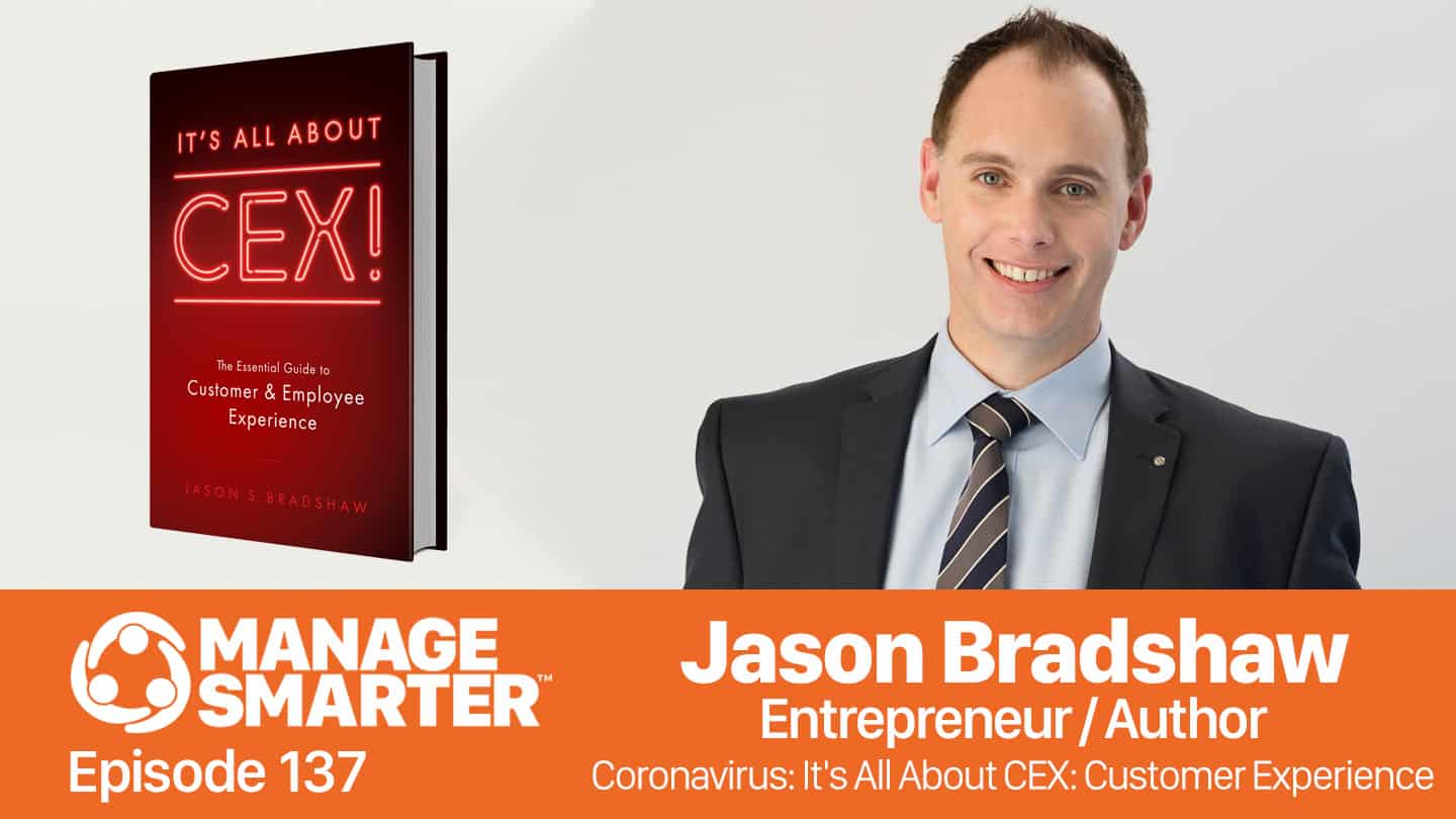 Jason S Bradshaw on the Manage Smarter podcast from SalesFuel