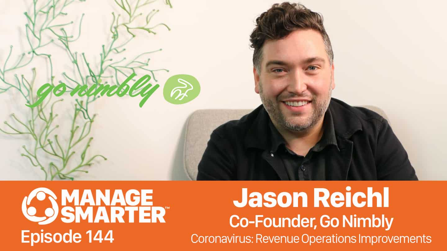 Jason Reichl on the Manage Smarter podcast from SalesFuel
