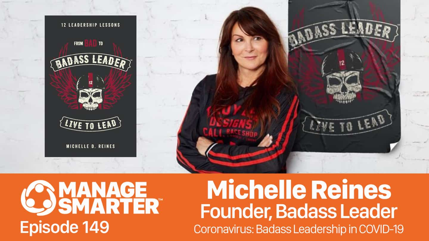 Michelle Reines on the Manage Smarter podcast from SalesFuel