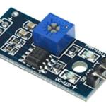 top view of digital thermal resistor