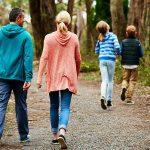 family time walk