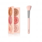 clinique cheek pop trio palette blush bronzer glow contour brush