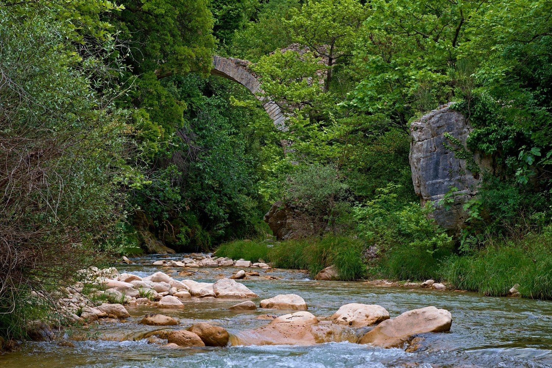 Neda River, Messinia, Greece