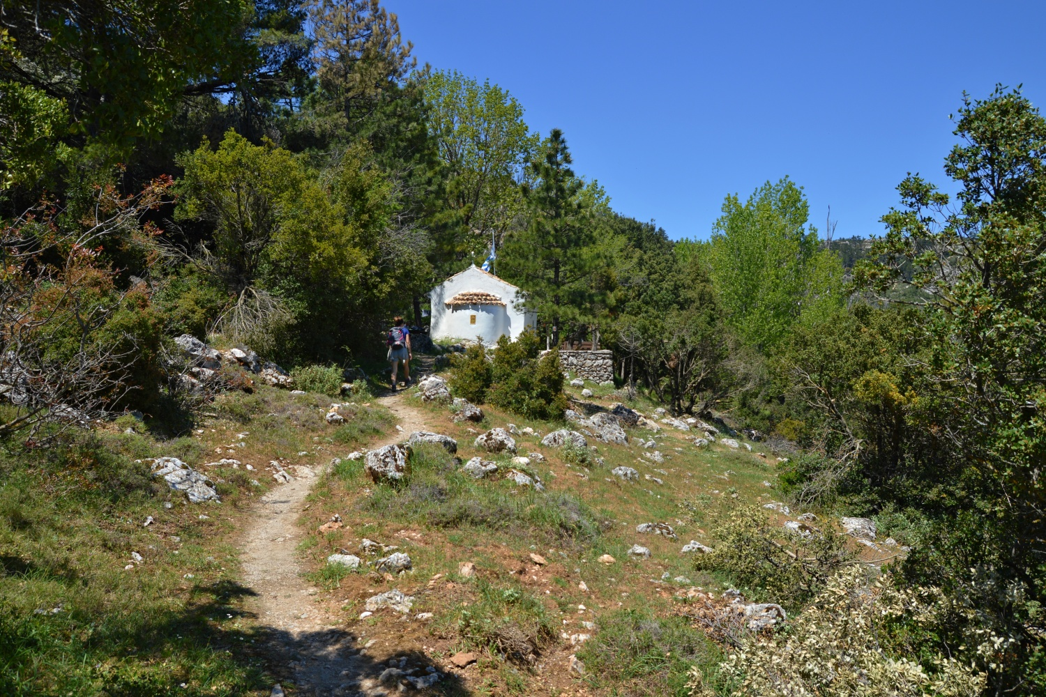 Agios Georgios Church at Mount Parnitha