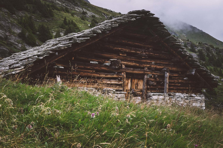 Urige Alpenhütte