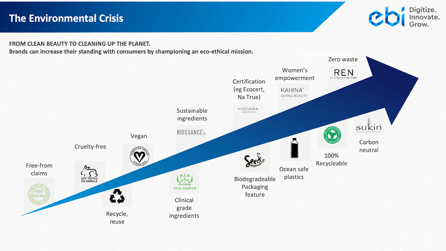 The five Megatrends The Climate Crisis