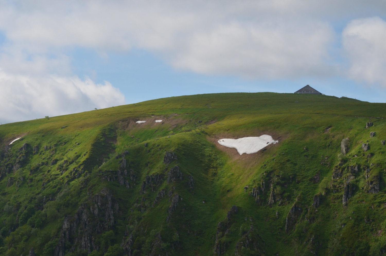 Le Hoheneck aus Richtung Col de la Schlucht