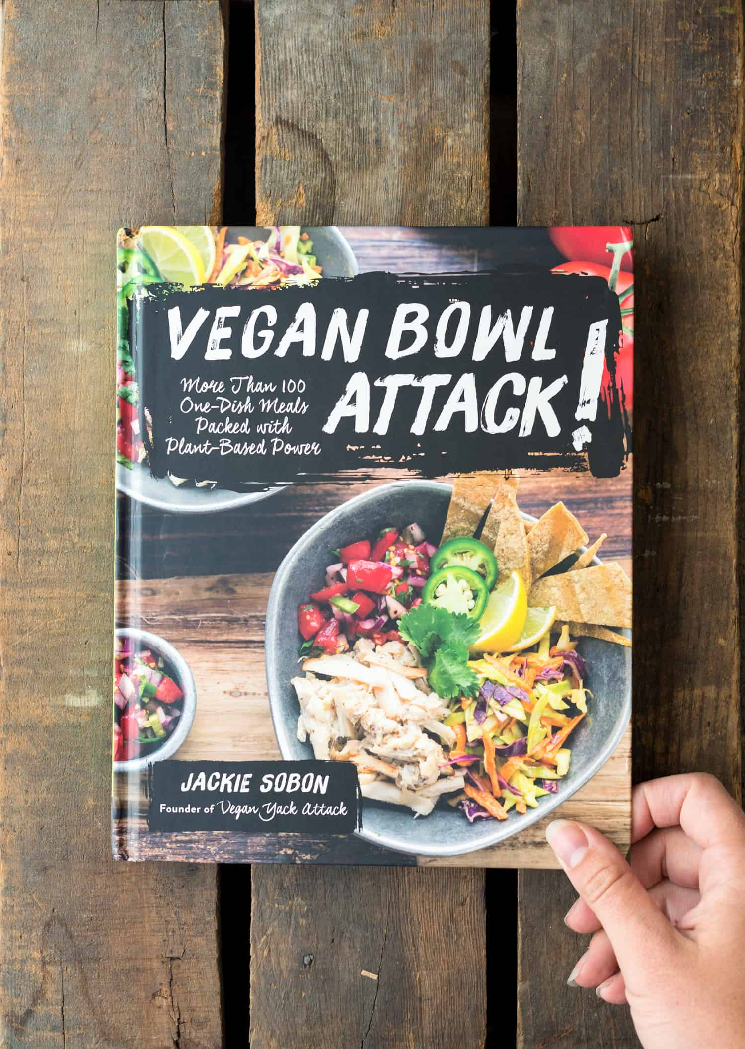 Vegan Bowl Attack! Cookbook #vegan