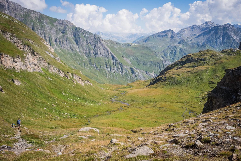 Blick ins Val Maroz in Graubünden