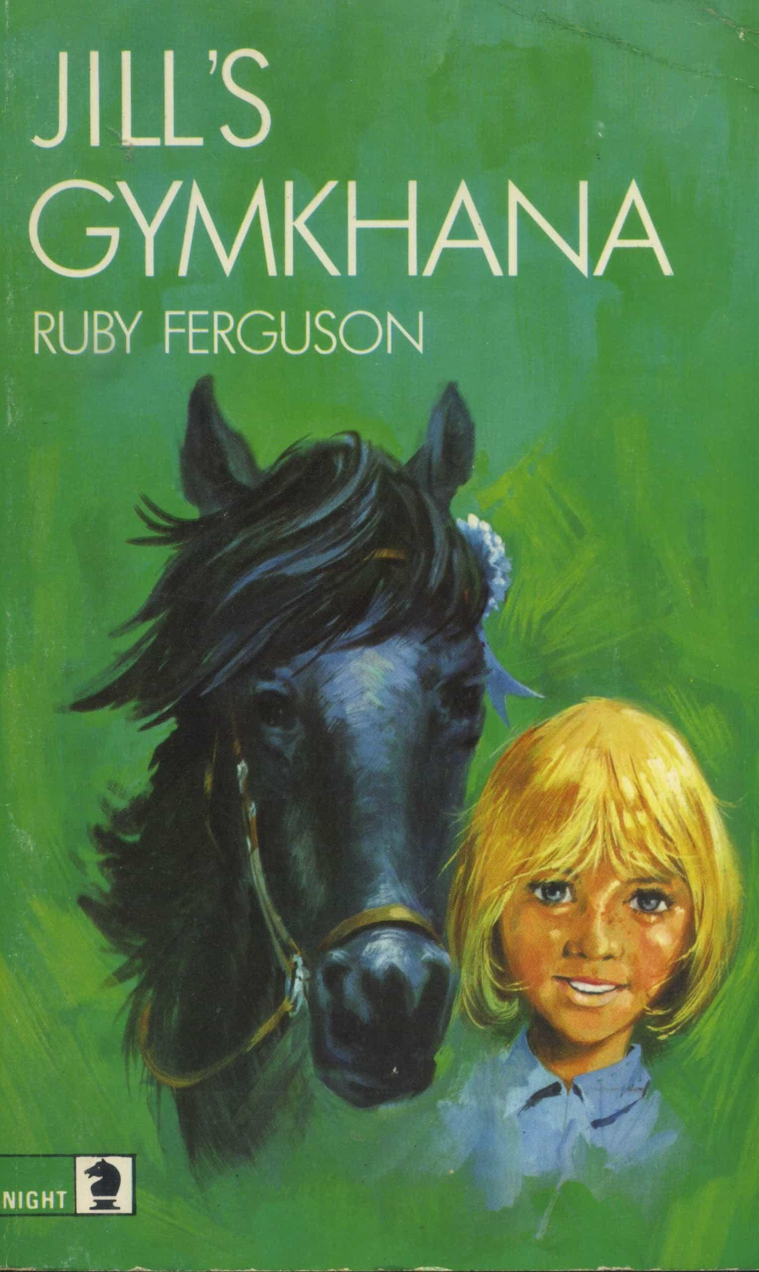 Jill's Gymkhana Book Ruby Ferguson