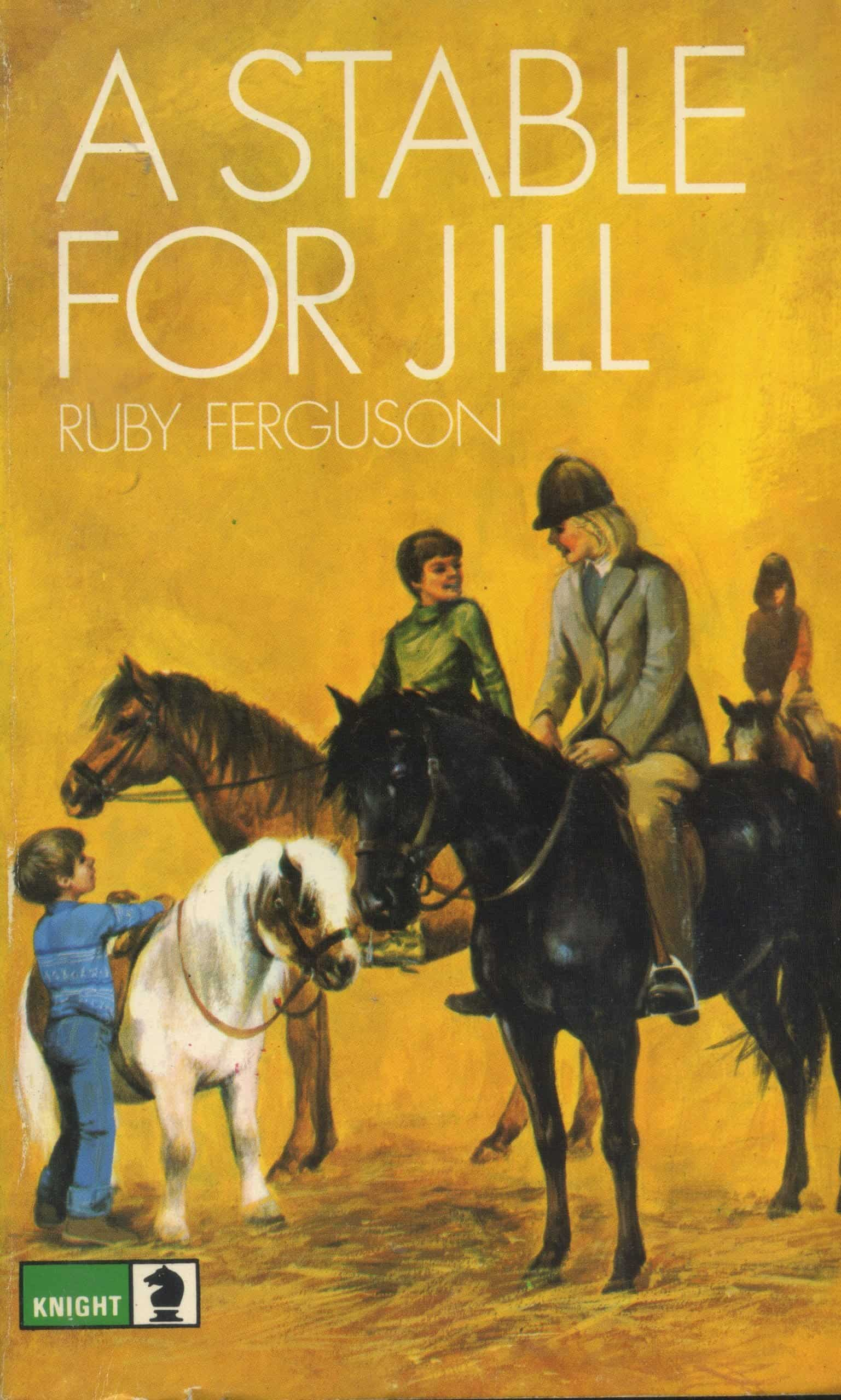 A Stable for Jill Book Ruby Ferguson