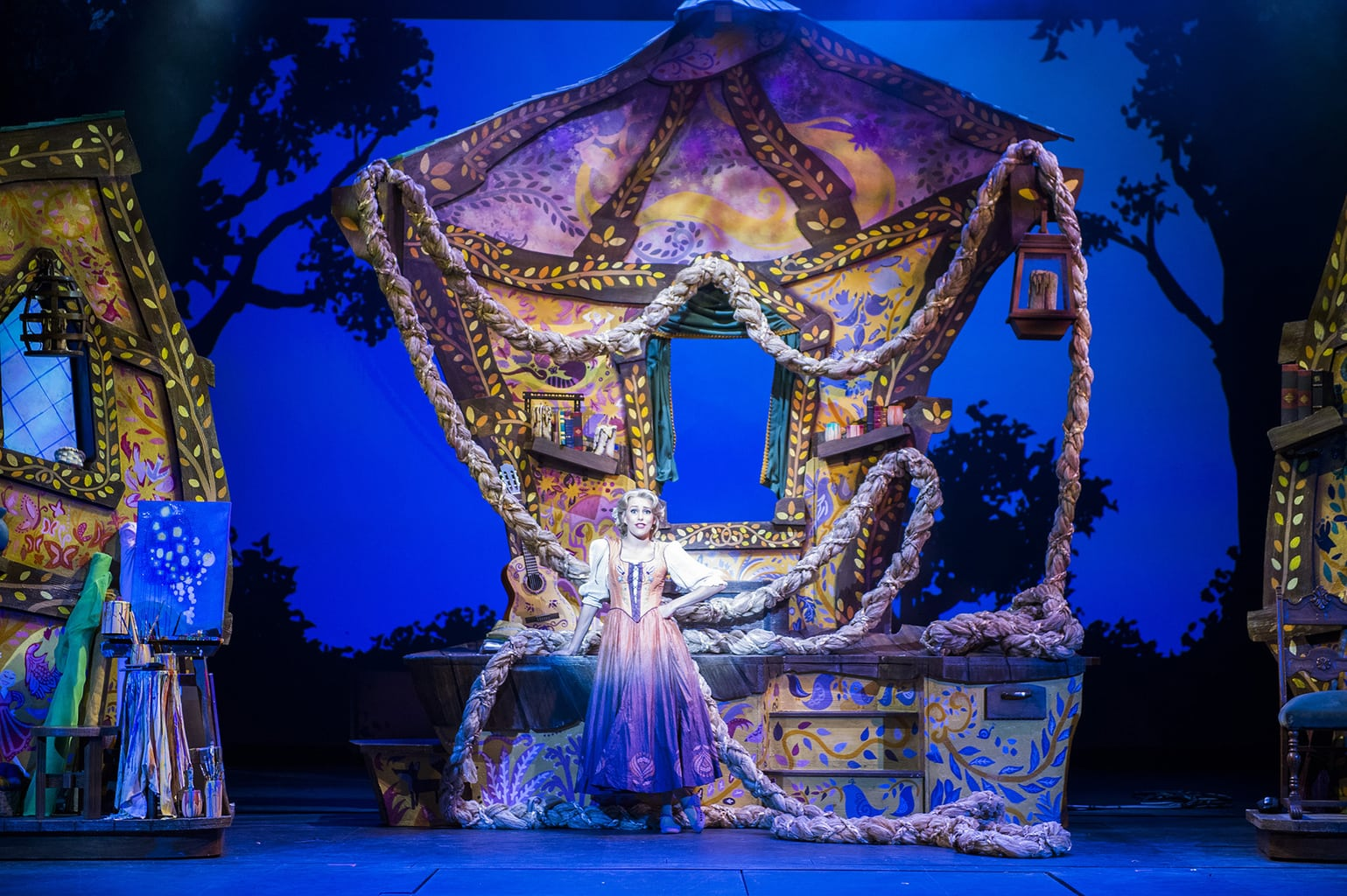 """""""Tangled: The Musical"""" is the newest original Disney Cruise Line stage spectacular."""