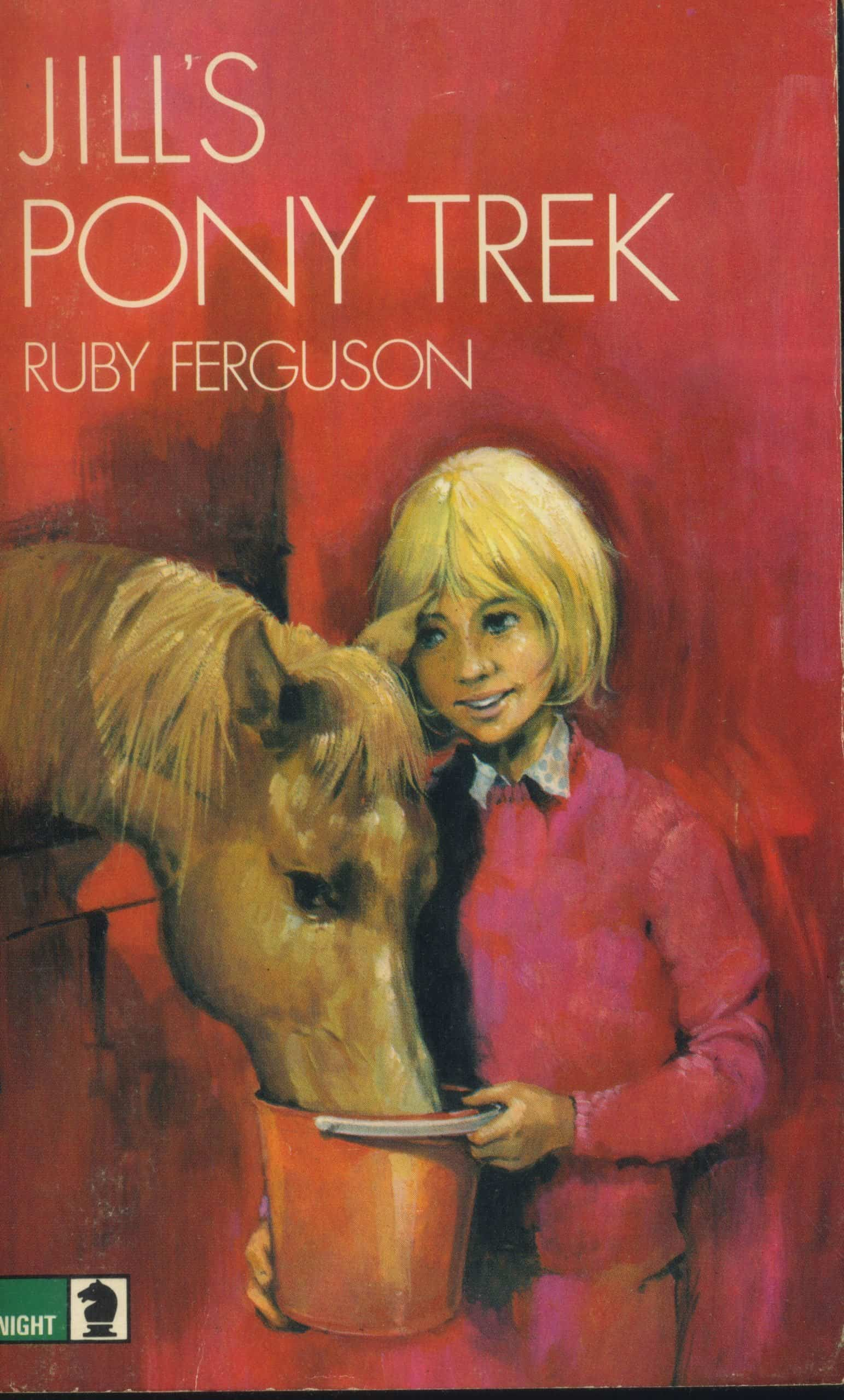 Jill's Pony Trek Book Ruby Ferguson
