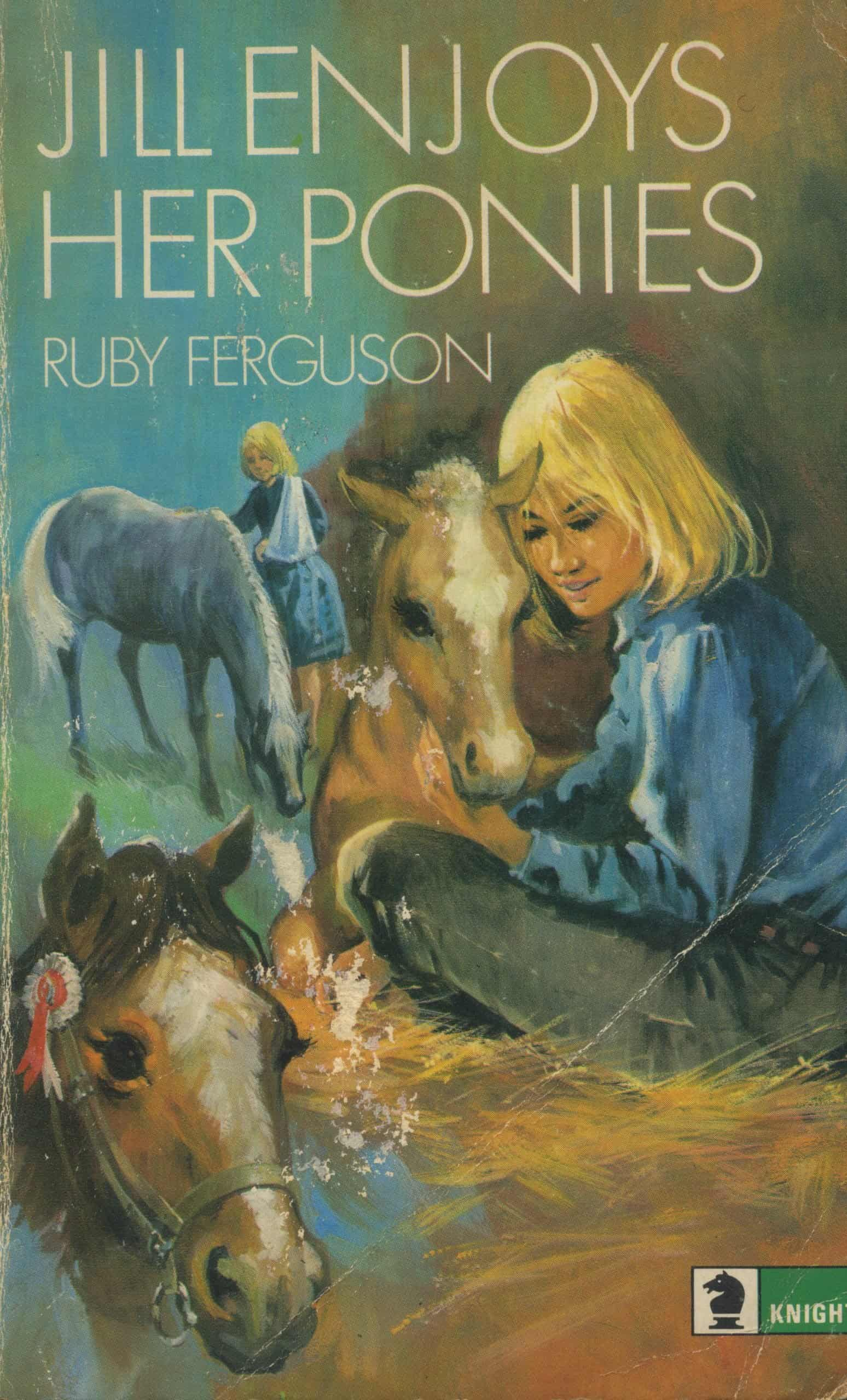 Jill Enjoys her Ponies Book Ruby Ferguson