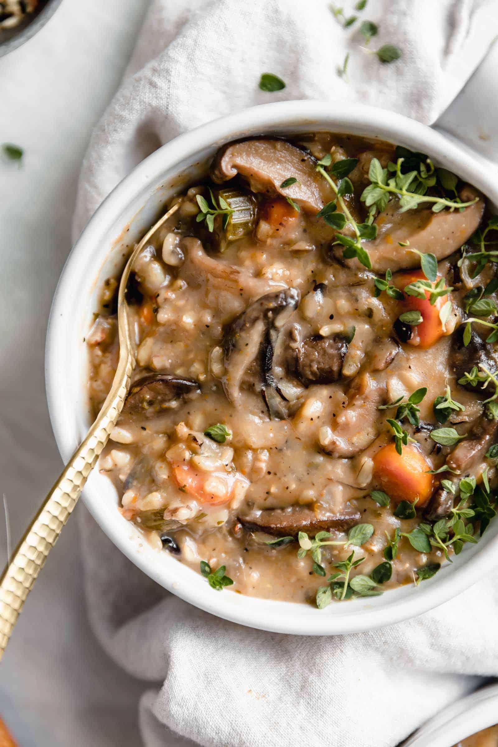 Home Mushroom Soup Recipe